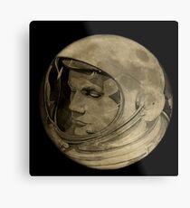 Lámina metálica El astronauta Neil Armstrong