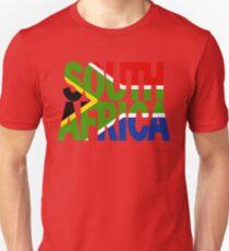 South Africa + flag T-Shirt