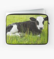 Happy In The Green Grass... Laptop Sleeve