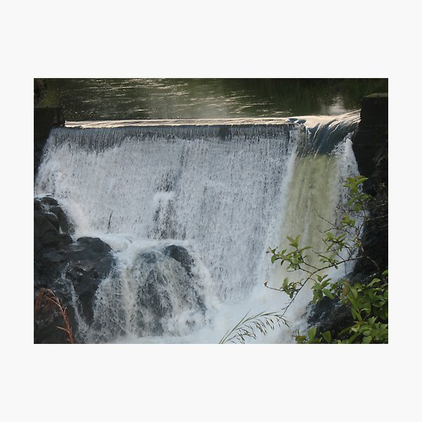 Waterfall at Pi'ihonua - above Hilo Photographic Print