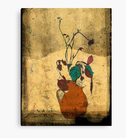 bouquet sordide fresco  Canvas Print