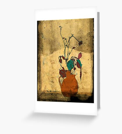 bouquet sordide fresco  Greeting Card