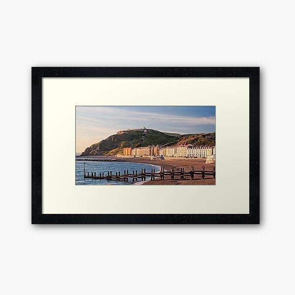 Aberystwyth, Wales. Framed Art Print