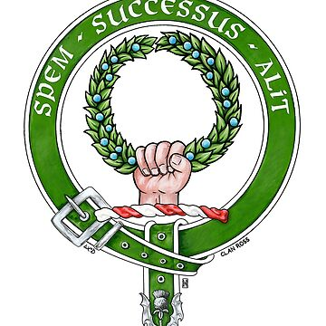 Scottish Crest of Clan Ross by Cleave