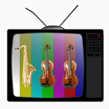 Sax and Violins on TV by ProfessorM