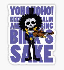 Brook Bink's sake song Sticker