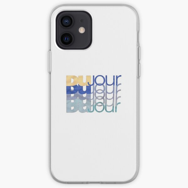 DuJour logo iPhone Soft Case