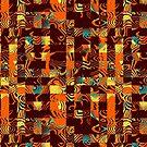 Geometric patchwork by Gaspar Avila
