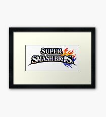 Super Smash Bros Framed Print
