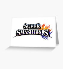 Super Smash Bros Greeting Card