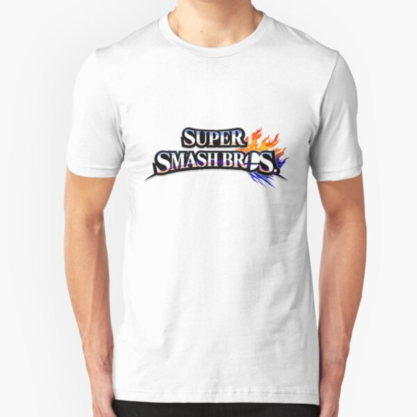 Super Smash Bros Slim Fit T-Shirt