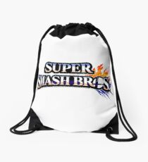 Super Smash Bros Drawstring Bag