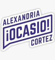 alexandria ocasio cortez - women in congress Sticker