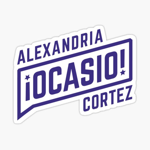 alexandria ocasio cortez - women in congress Sticker