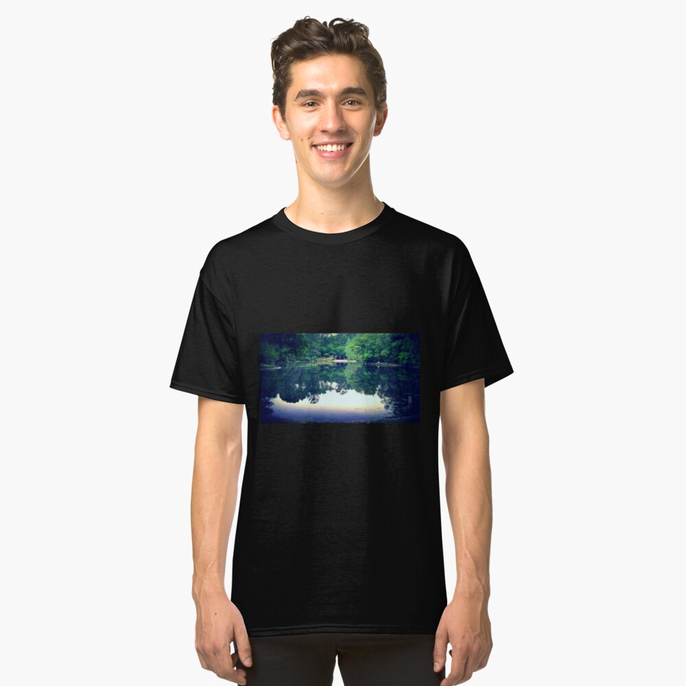 Light Reflects  Classic T-Shirt Front