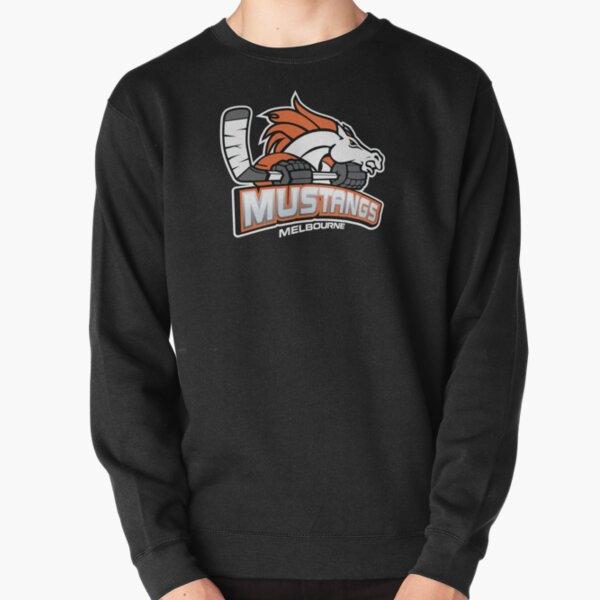 Melbourne Mustangs Classic White Logo Pullover Sweatshirt