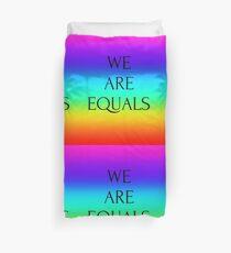 Equal  Duvet Cover
