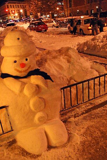 Tuty the Snowman by Cora Wandel