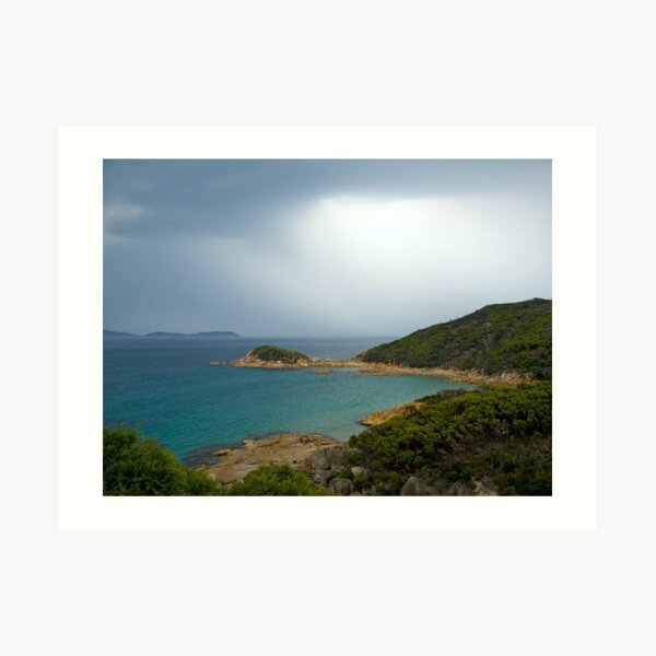 Approaching storm,Wilsons Promontory, Victoria Art Print