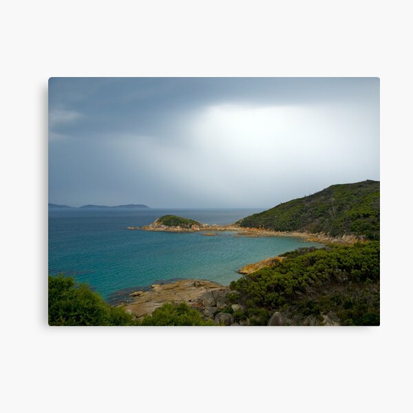 Approaching storm,Wilsons Promontory, Victoria Canvas Print