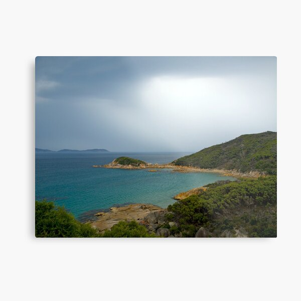 Approaching storm,Wilsons Promontory, Victoria Metal Print