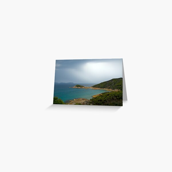 Approaching storm,Wilsons Promontory, Victoria Greeting Card