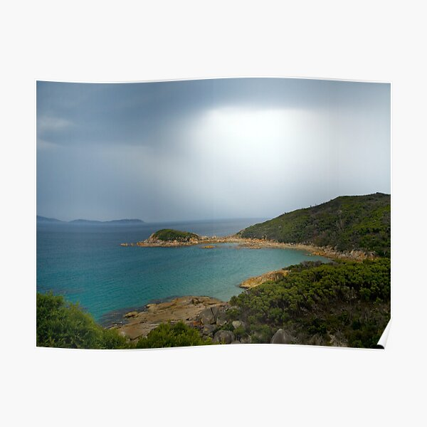 Approaching storm,Wilsons Promontory, Victoria Poster