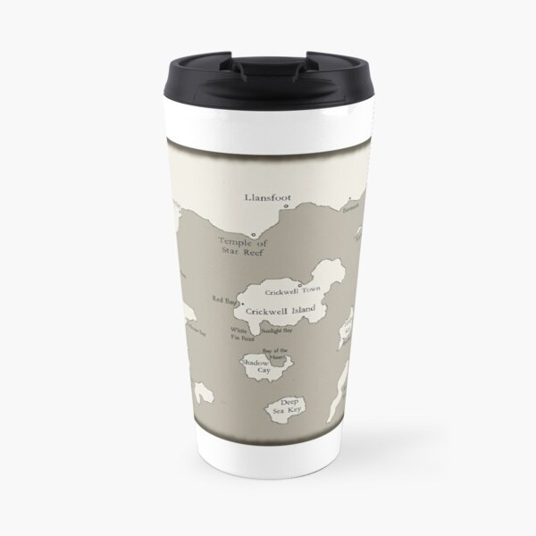 Map of the Outer Islands Travel Mug