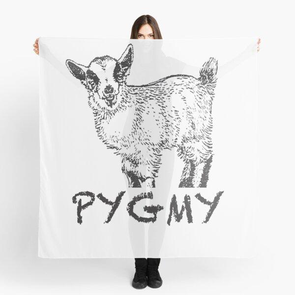 Pygmy Goat T-Shirt Scarf