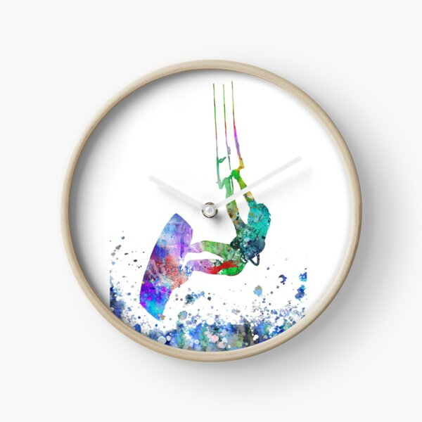 Kitesurfing Clock