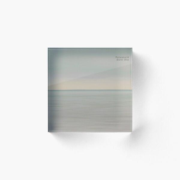 Borth Wen (cover) Acrylic Block