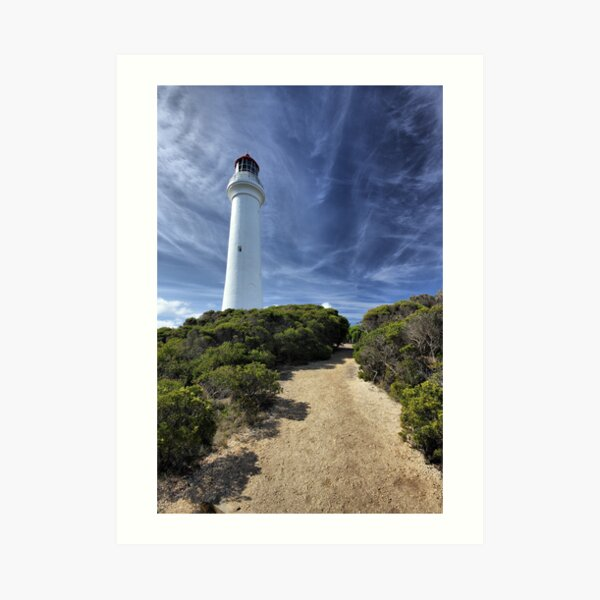 Aireys Inlet lighthouse Art Print