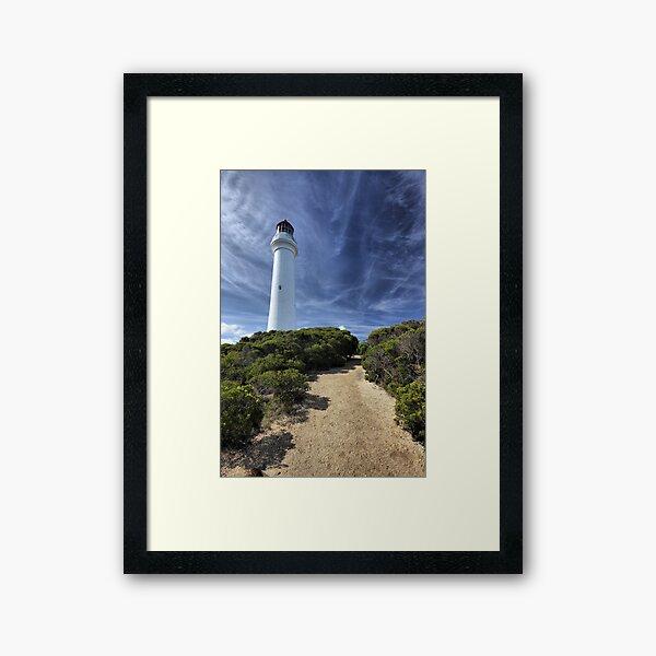 Aireys Inlet lighthouse Framed Art Print