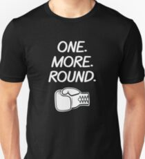 Name One More Round Boxer Unisex T-Shirt