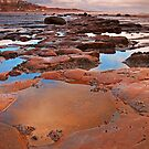 Red Rocks at Saltburn by Phillip Dove
