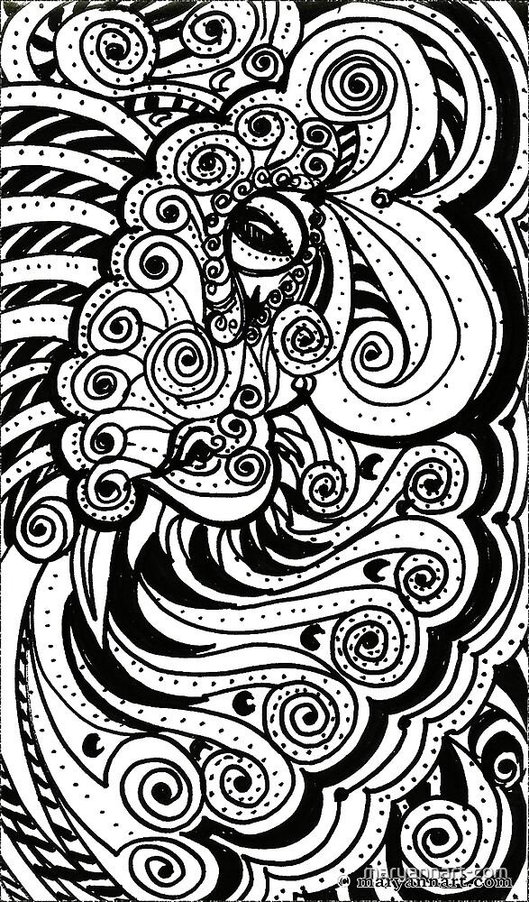 Dragon Eye by maryannart-com
