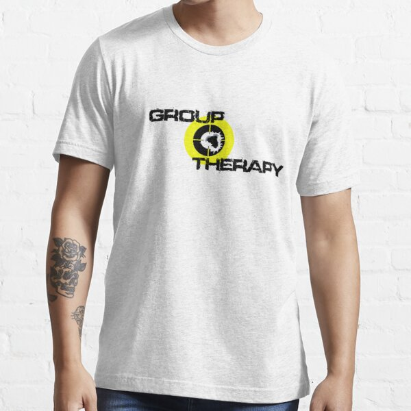 Group Therapy - black text  Essential T-Shirt