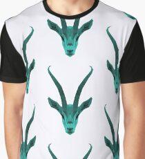The blue Gazelle Graphic T-Shirt