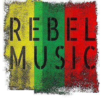 Rebel Music Reggae  by Slackr