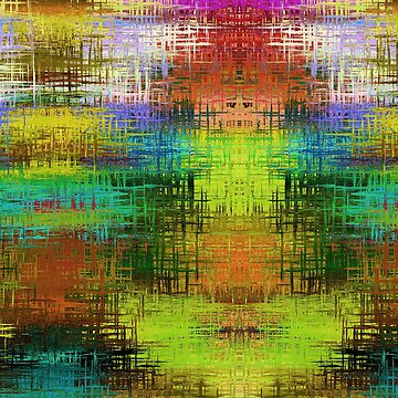 Colorful Abstract Funky Pattern by CarlosV