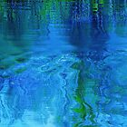 Blue reflection by Jeannine St-Amour