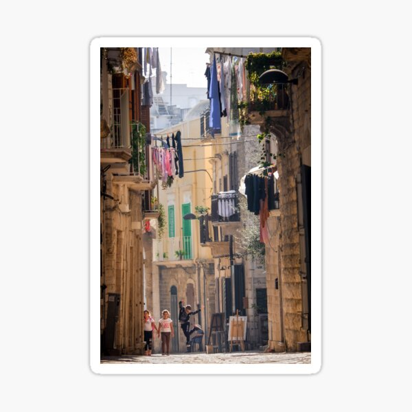 Molfetta, Italy. Sticker
