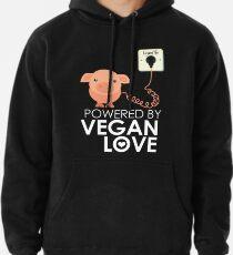VeganChic ~ Powered By Vegan Love Pullover Hoodie