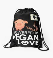 VeganChic ~ Powered By Vegan Love Drawstring Bag