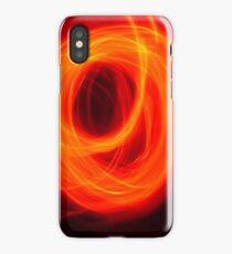 Orange Overlap iPhone Case