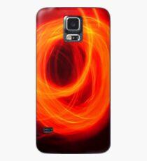 Orange Overlap Case/Skin for Samsung Galaxy