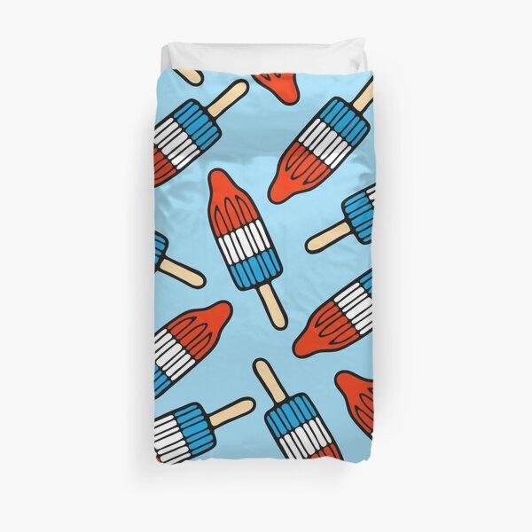 Rocket Popsicle Pattern Duvet Cover