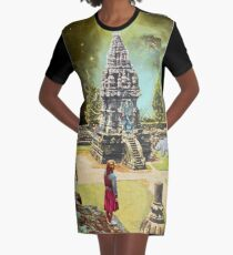 Path to Ascension Graphic T-Shirt Dress