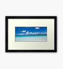 Whitehaven Beach 4.0 Framed Print
