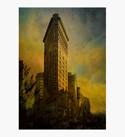 Flat Iron Building - My Take on it.... Photographic Print